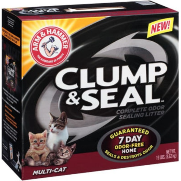 Arm & Hammer Clump & Seal Multi-Cat Cat Litter