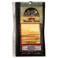 Andrew & Everett Cheese, Thin Sliced Muenster