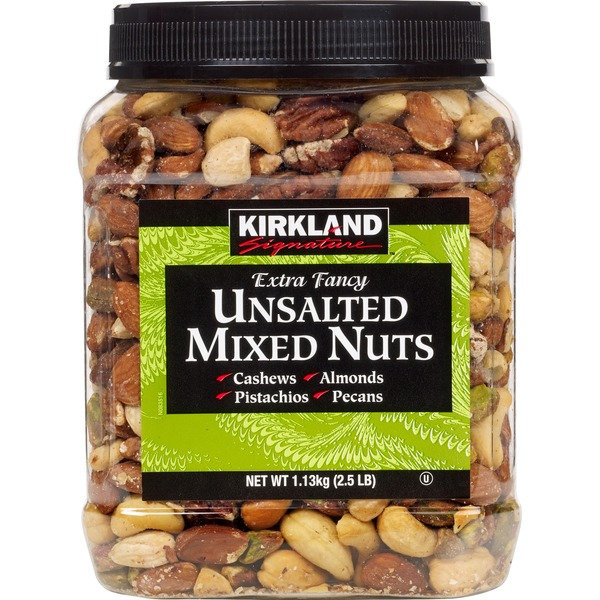 Kirkland Signature Extra Fancy Unsalted Mixed Nuts