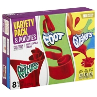 Betty Crocker Fruit Flavored Snacks Variety Pack