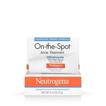 Neutrogena On-The-Spot Acne Treatment With Benzoyl Peroxide, 0.75 Oz.