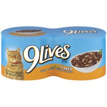 9Lives Tender Morsels With Real Flaked Tuna & Egg Bits In Sauce Wet Cat Food, 5.5-Ounce Cans (Pack of 6)