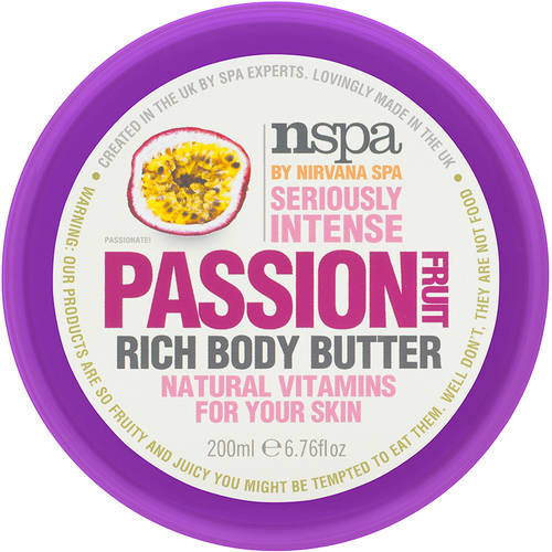 NSPA by Nirvana Spa Passion Fruit Rich Body Butter