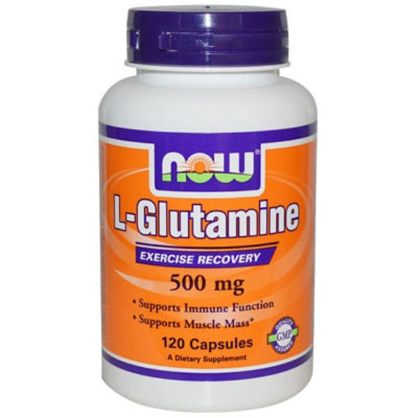 Now L Glutamine - 500 Mg