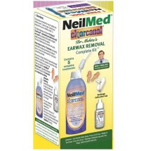 NeilMed Clearcanal Dr. Mehtas Earwax Removal Complete Kit, 5 pc