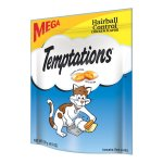 TEMPTATIONS Functional Treats for Cats Hairball Control Chicken Flavor 4.9 Ounces
