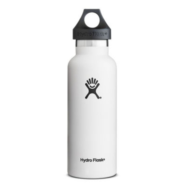 Hydro Flask Arctic White Standard Mouth Bottle 18 Oz