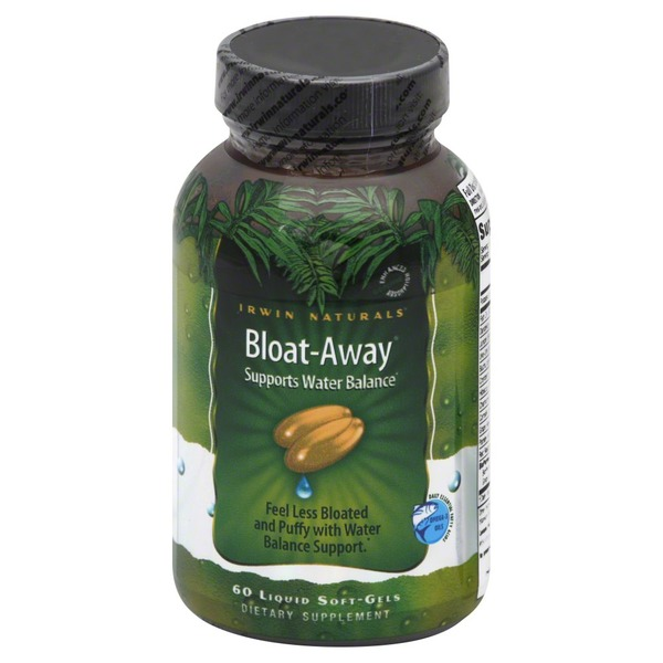 Irwin Naturals Bloat-Away, Liquid Soft-Gels