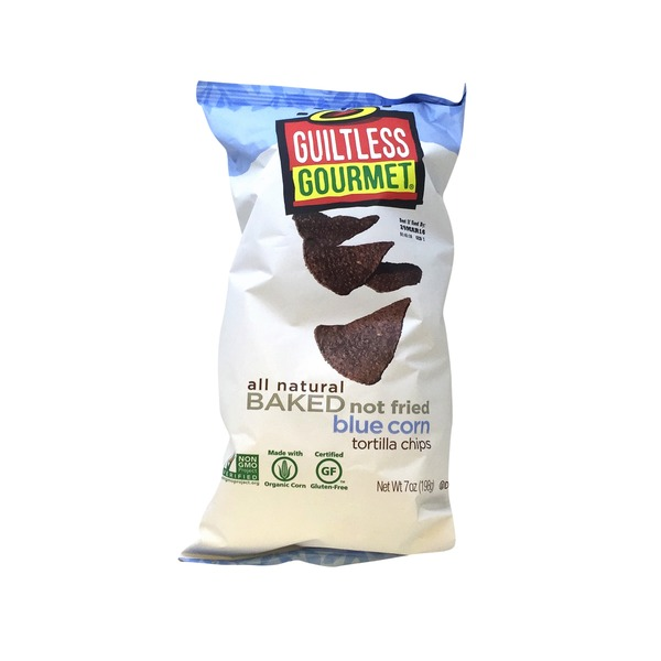 Guiltless Gourmet Blue Corn Tortilla Chips
