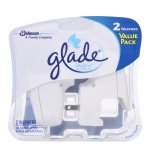 Glade PlugIns Scented Oil Air Freshener Warmer, 2 warmers