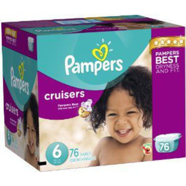 Pampers Cruisers Pampers Cruisers Diapers Size 6 76 count Diapers