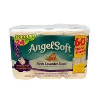 Angel Soft Bathroom Tissue, Fresh Lavender Scent, Double Rolls, 2-Ply