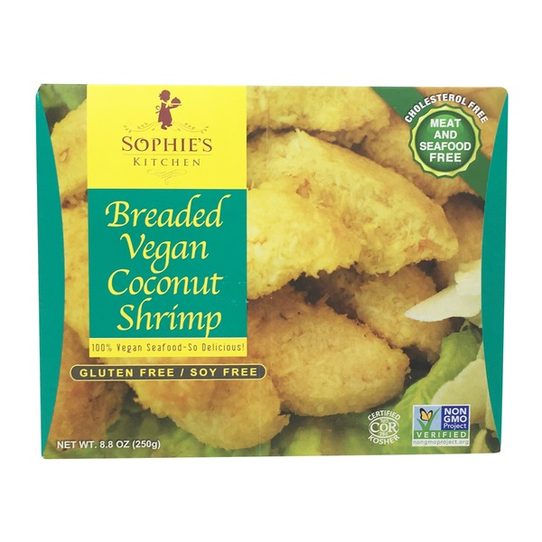 Sophie's Kitchen Breaded Vegan Coconut Shrimp