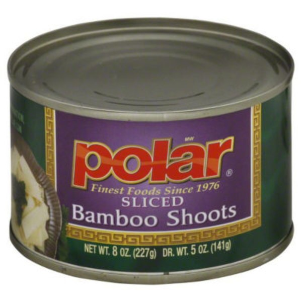 Polar Bamboo Shoots, Sliced