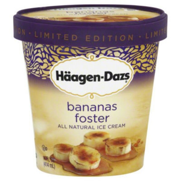 Haagen-Dazs Peanut Butter Pie/Peppermint Bark Ice Cream