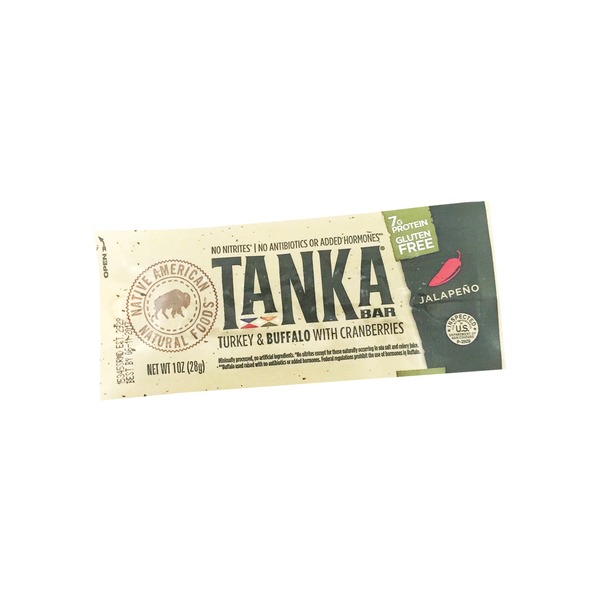 Tanka Buffalo & Turkey Cranberry Jalapeno Bar