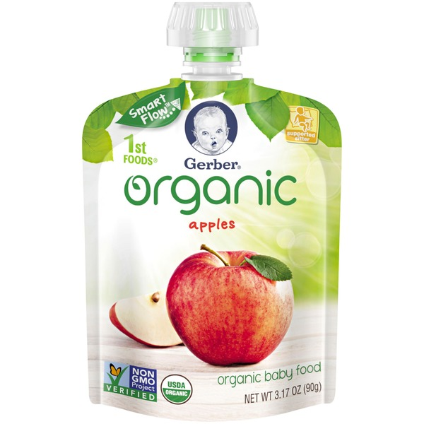 Gerber Organic 1 St Foods Organic Apples Baby Food