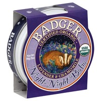 Badger Balm, Night-Night, Lavender & Chamomile