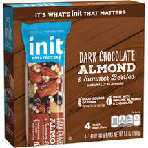 init Dark Chocolate Almond and Summer Berry Bars