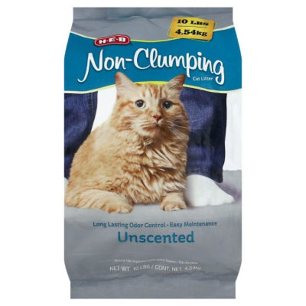 H-E-B Unscented Non-Clumping Cat Litter