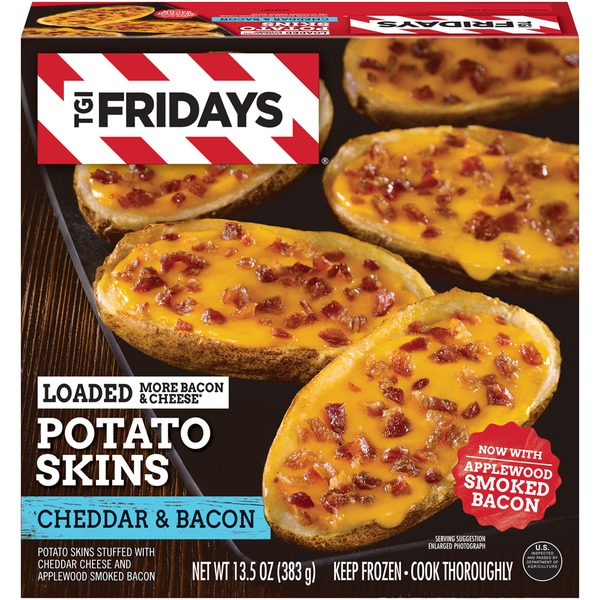 T.G. I. Friday's Loaded Cheddar & Bacon Potato Skins