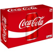 Coca-Cola Soda, 12 Fl Oz, 24 Count