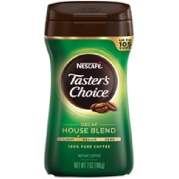 Nescafe Taster's Choice House Blend Decaf Instant Coffee