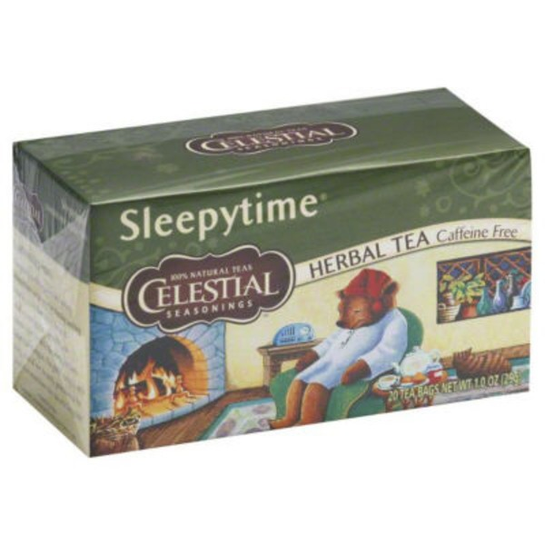 Celestial Seasonings Sleepytime Herbal Tea, Caffeine Free