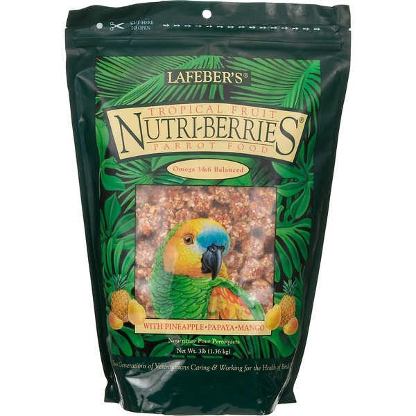 Lafeber's Tropical Fruit Nutri Berries Parrot Food