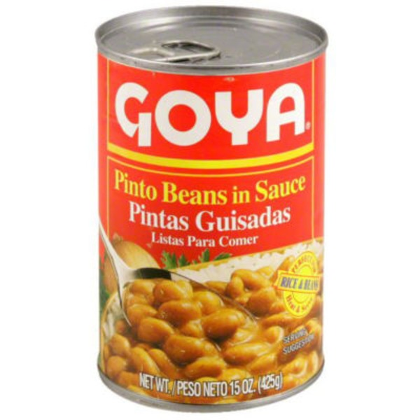 Goya Pinto Beans In Sauce