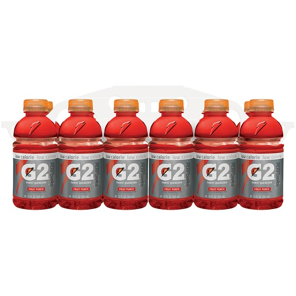 Gatorade Low Calorie Fruit Punch Thirst Quencher Sports Drink