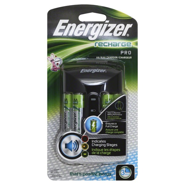 Energizer Recharge Pro AA Batteries