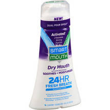 SmartMouth Dry Mouth Clean Mint Activated Mouthwash