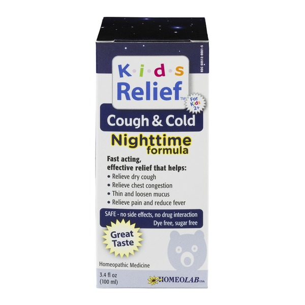 Kids Relief Cough & Cold Nighttime Formula