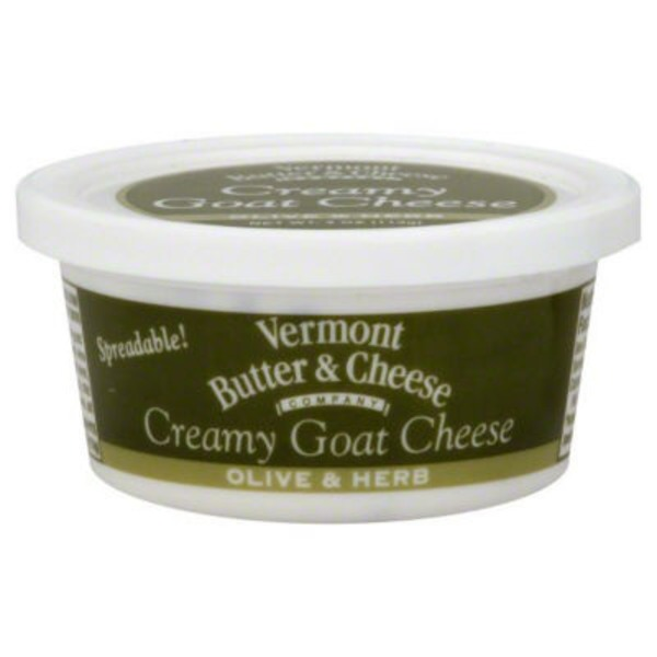 Vermont Creamery Cheese, Creamy Goat, Olive & Herb