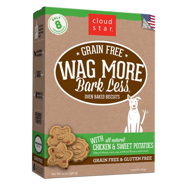 Cloud Star Grain Free Wag More Bark Less Chicken & Sweet Potato