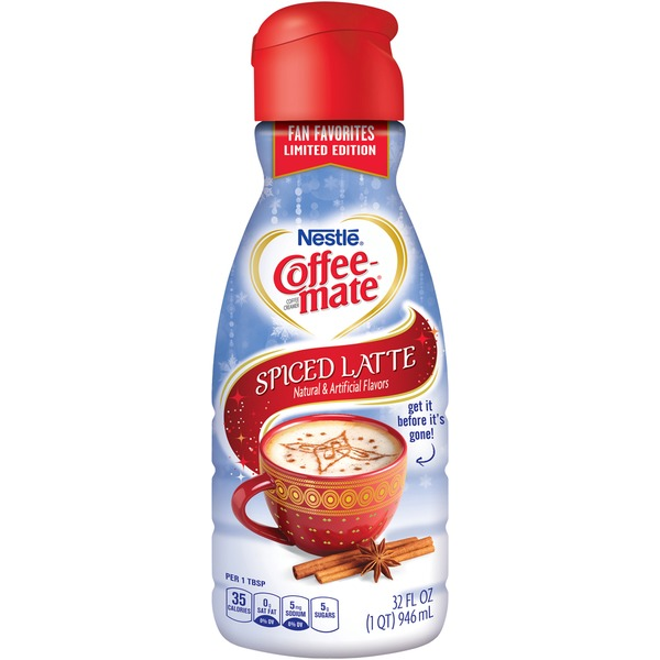 Nestlé Coffee Mate Spiced Latte Liquid Coffee Creamer