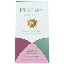 Mitchum Clinical (Women) Oxygen Odor Control Technology Soft Solid Anti-Perspirant & Deodorant (Pack of 3)