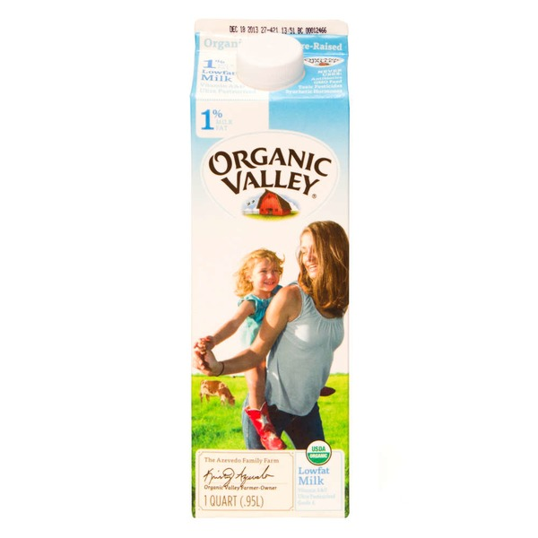 Organic Valley Lowfat Milk