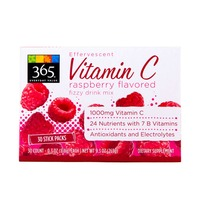 365 Effervescent Vitamin C Raspberry Mix