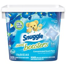 Snuggle® Scent Boosters® Blue Iris Bliss® Concentrated Laundry Scent Pacs 39.5 oz. Tub