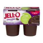 JELL-O Pudding Snacks Chocolate - 4 CT