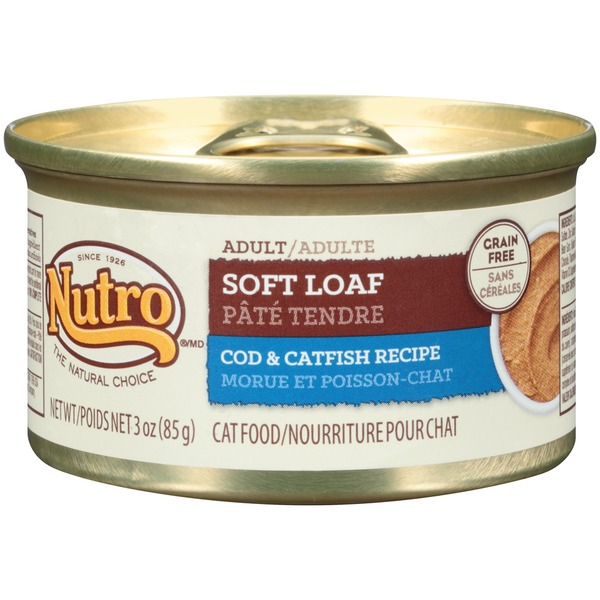 Nutro Adult Soft Loaf Cod & Catfish Recipe Cat Food