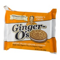 Newman's Own Ginger-O's Ginger 'N Creme Filled Ginger Cookies