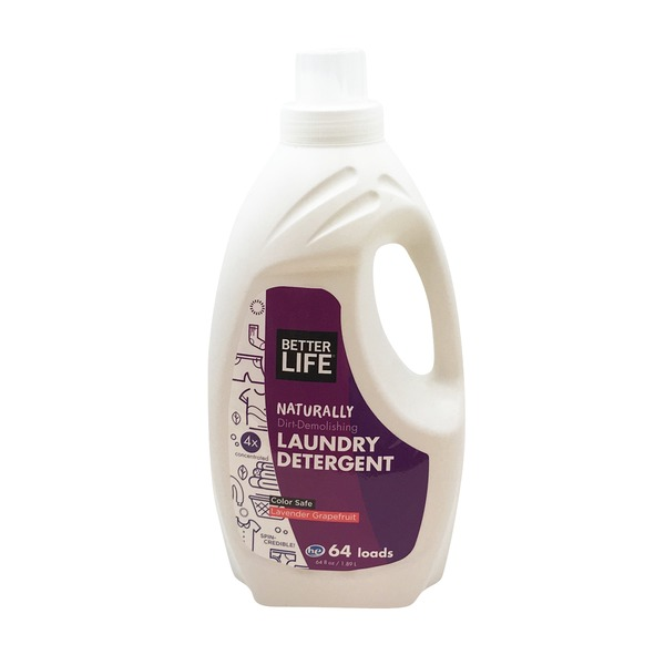 Better Life Natural HE Lavender Grapefruit Detergent