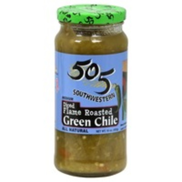 505 Southwestern Green Chile, Medium, Flame Roasted