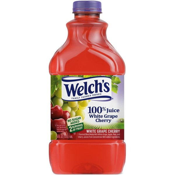 Welch's White Grape Cherry 100% Juice