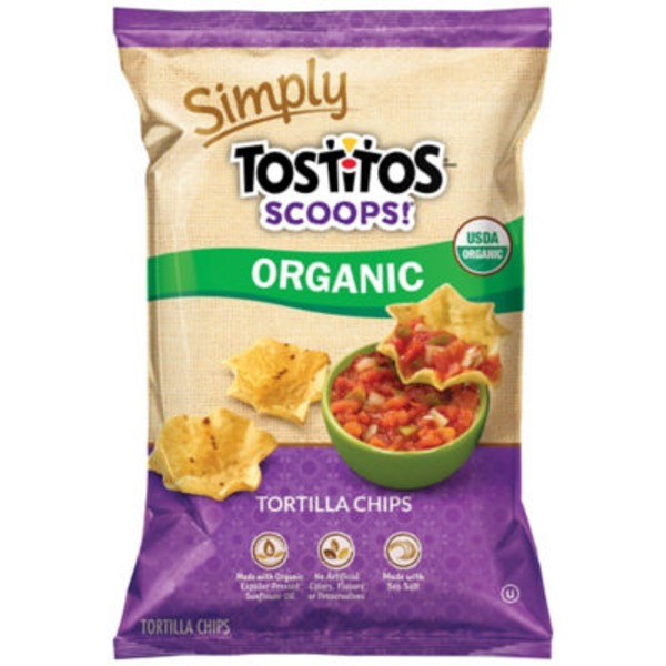 Tostitos Simply Scoops! Organic Tortilla Chips
