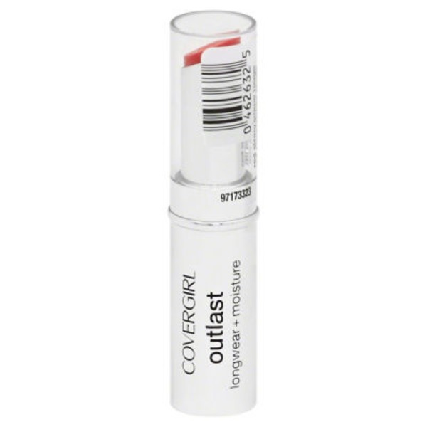 CoverGirl Outlast COVERGIRL Outlast Longwear Lipstick Red Siren .12 oz (3.4 g) Female Cosmetics