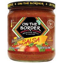 On The Border Mexican Grill & Cantina Medium Salsa, 16 oz